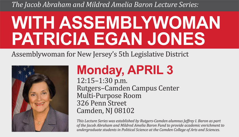 The Baron Lecture Series: Monday, April 3