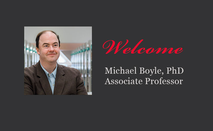 Please welcome Dr. Michael Boyle to the Political Science Department
