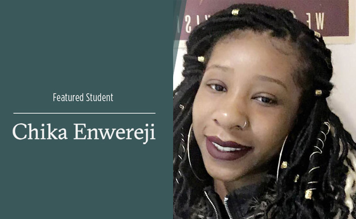 Featured Student, Chika Enwereji