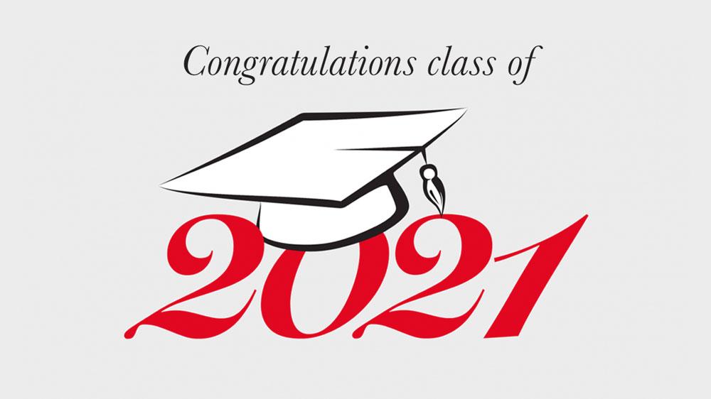 Read about our 2021 graduates!